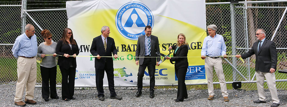 Battery Storage Project Ribbon Cutting Ceremony