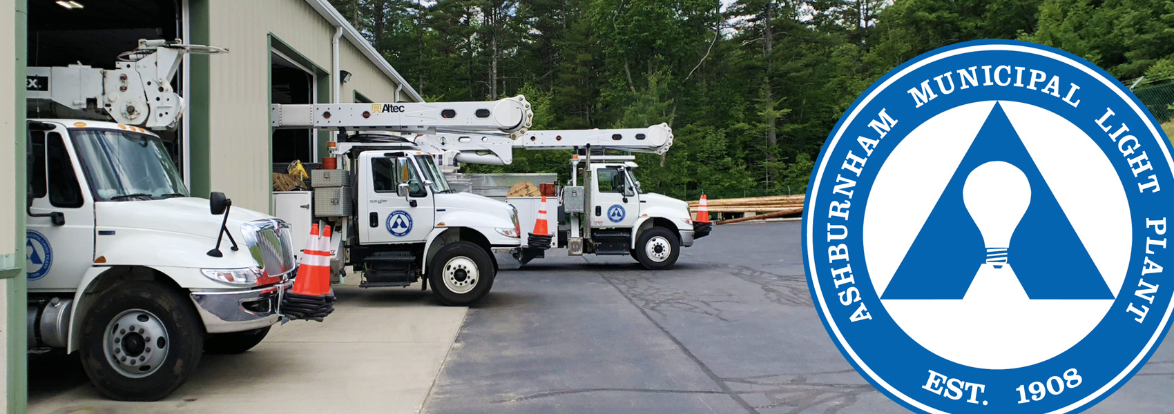 AMLP's Fleet at the Headquarters in Ashburnham, MA