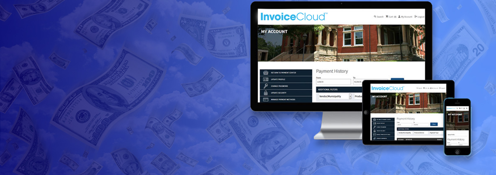 Pay Your AMLP Bill Electronically with InvoiceCloud<sup>&trade</sup>